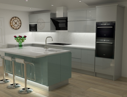 Latest Kitchen Design for Harlow Wood (Mansfield) Client